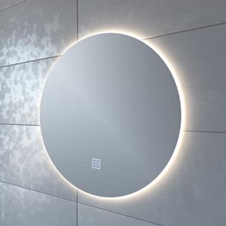 Adema Circle Badkamerspiegel Rond Diameter 80cm Met Indirecte Led