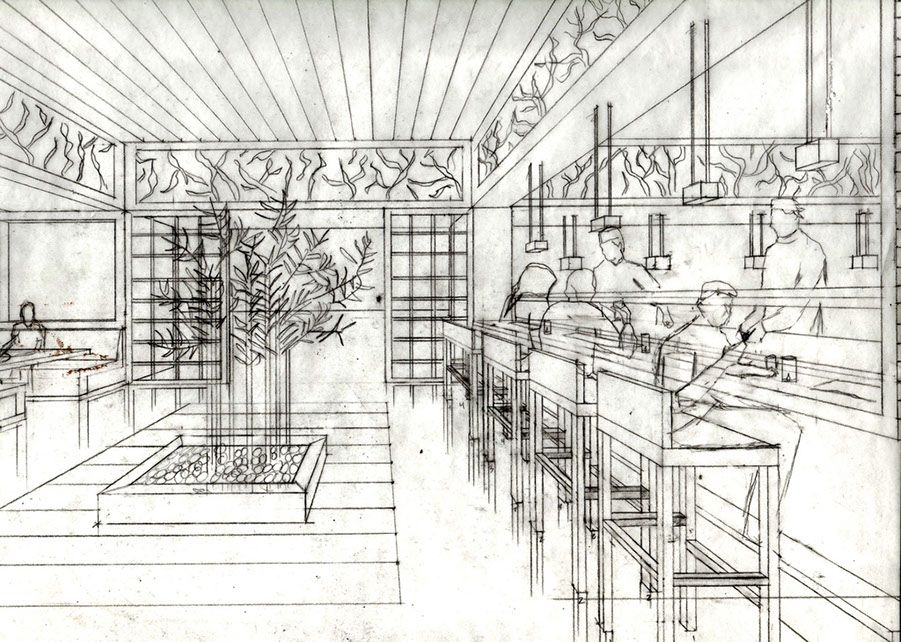 Image Result For Perspective Drawing Of Bar