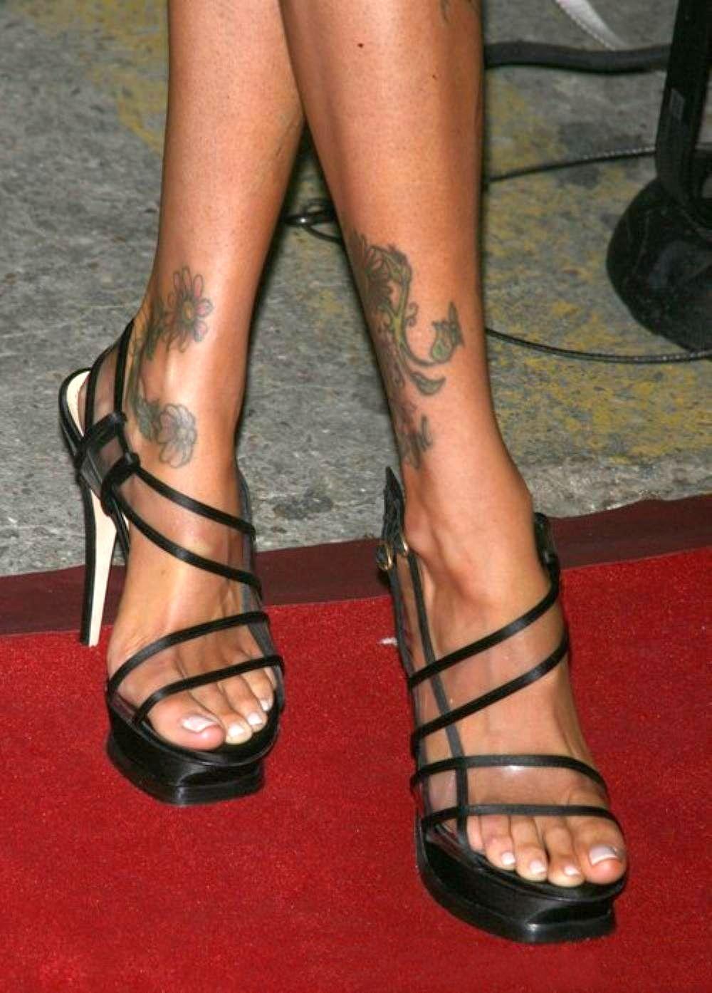 Jenna Jameson Toes