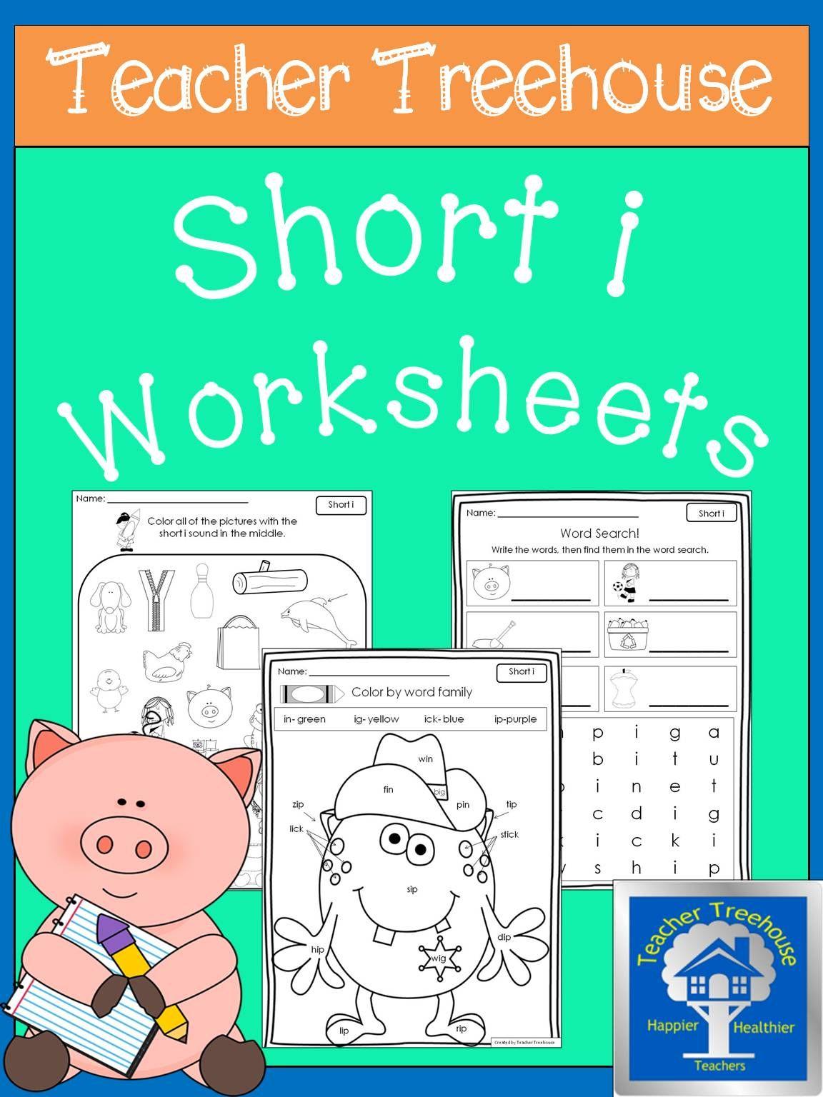 Short I Worksheets