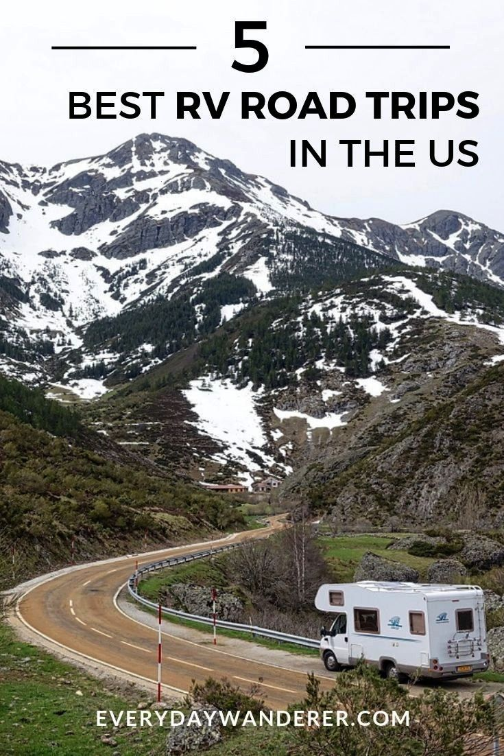 Best RV Road Trips in the US -  RV Travel | RV Tips and Tricks | RV Trips | RV Trips Planning U.S.