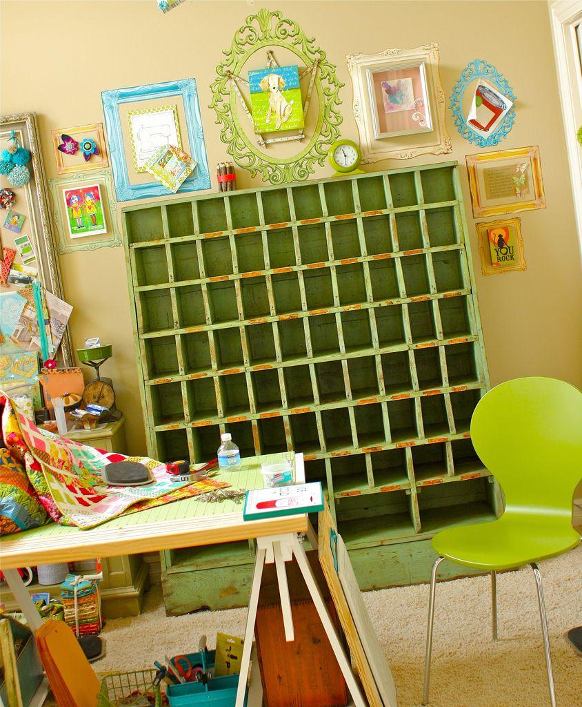 CRAFTY STORAGE: Kelly's Fabric Storage