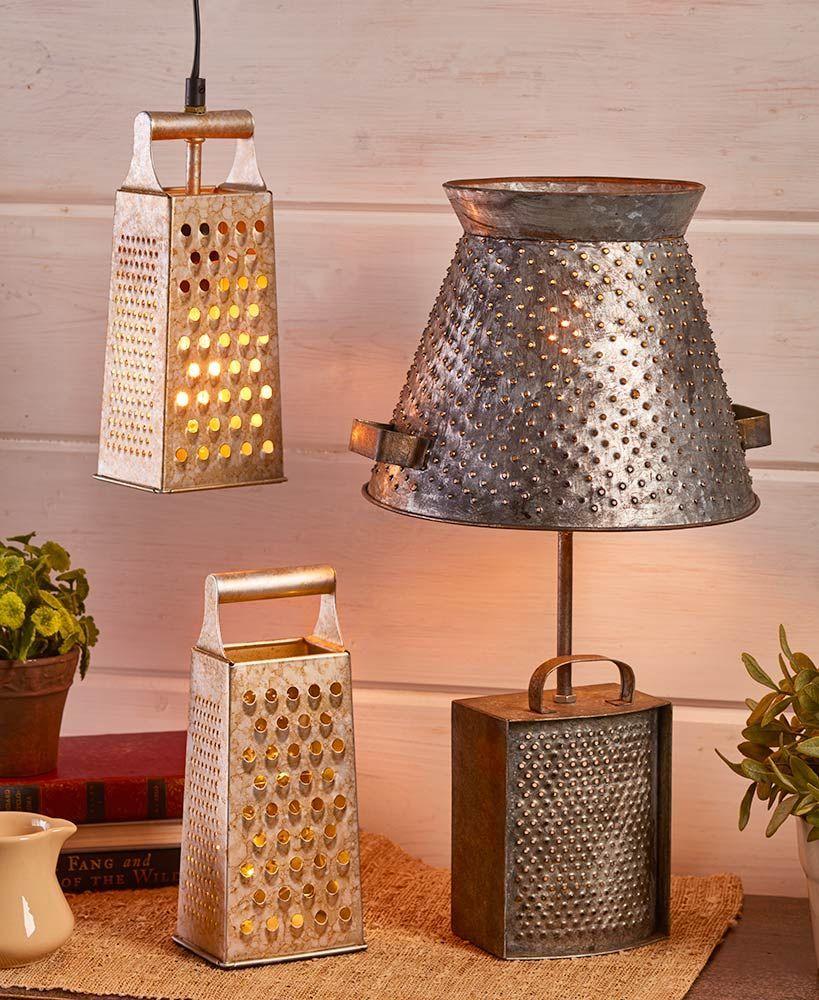 Rustic Farmhouse Lamp Collection LightingForHomes