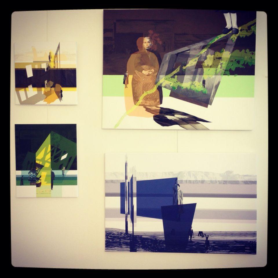 Anna Caruso #annacaruso #painting #studio #milan #art #artist