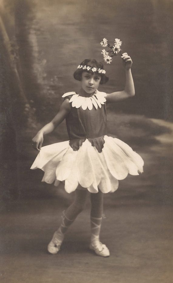 The Spring Fairy… 1920s Original Vintage RARE French Real Photo ...