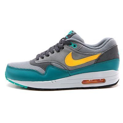 f3a8683ca1d3 Nike Air Max 1 Essential Mens 537383-018 Grey Catalina Running Shoes Size  7.5