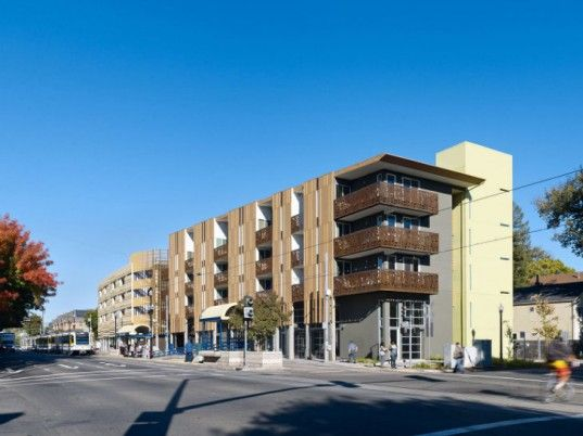Belles Townhomes Sf S First Leed Platinum Multi Family Housing Affordable Housing David Baker Eco Buildings