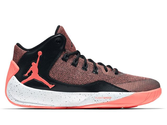 Nike Jordan Rising High 2 Bright Mango Black White Dark Grey (844065-800).  Jordan XiNike Air JordansSports ...