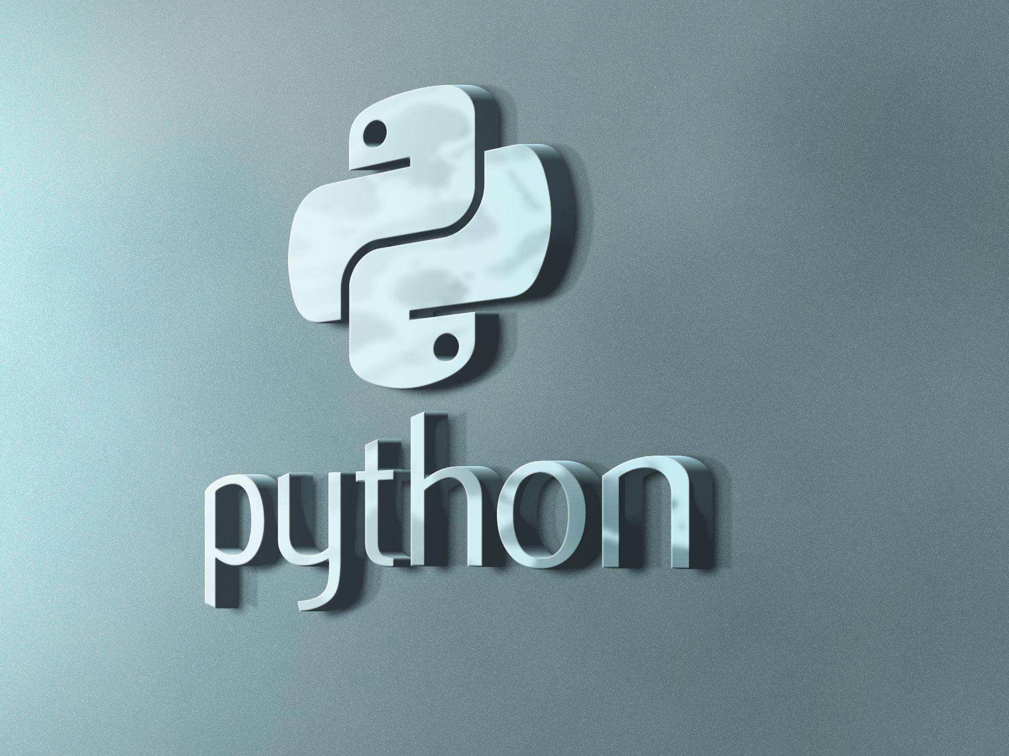 Python Logo Concept   Python Programming in 2019   Python