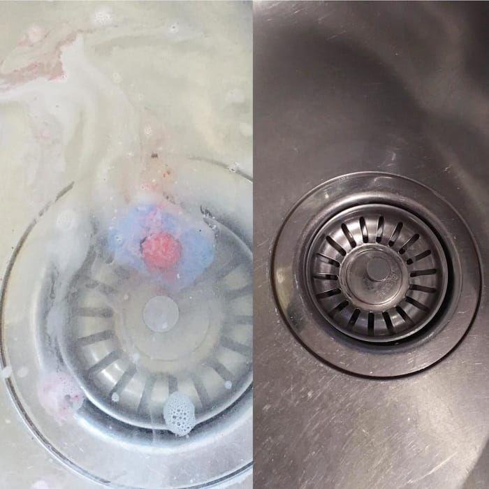 Der Abfluss Verstopft Standig Einfach Ein Geschirrspul Tab Im