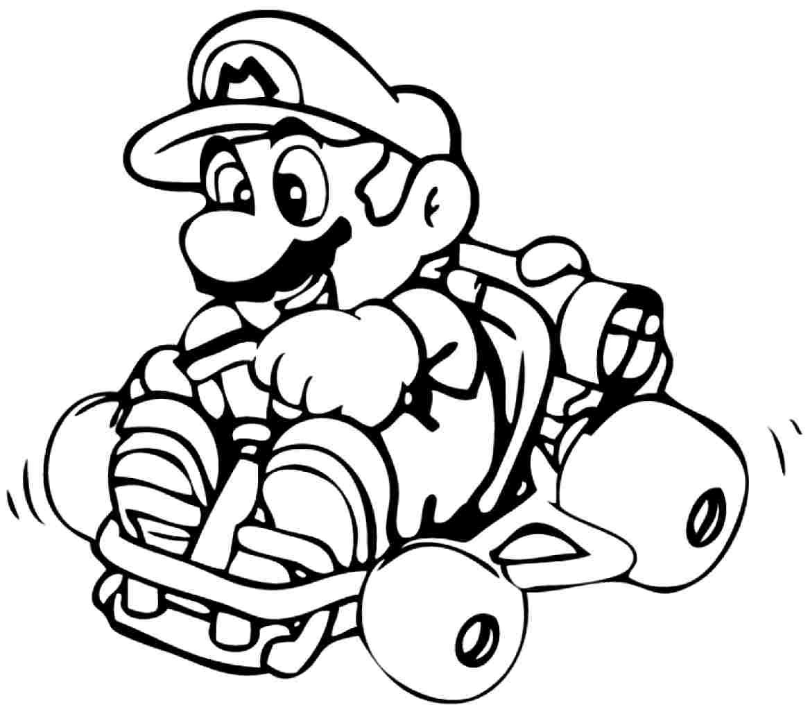 Super Mario Luigi Coloring Pages | super mario luigi coloring pages ...
