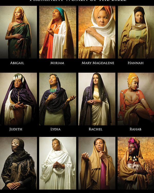 Prominent Women of the Bible Poster by Icons Of The Bible