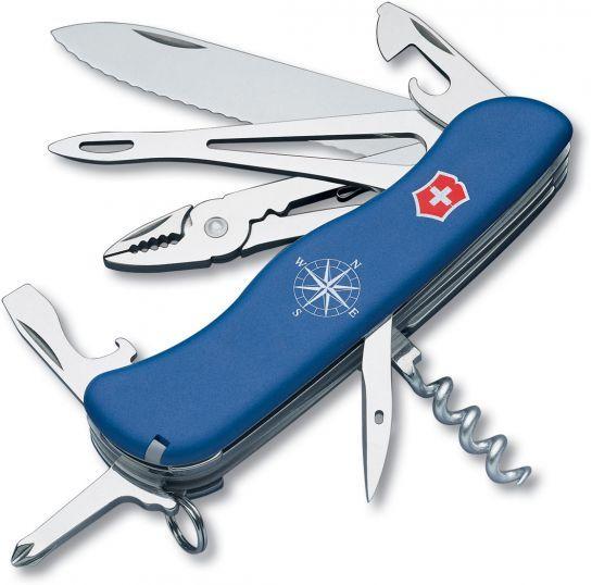 Victorinox Swiss Army Skipper Multi Tool Blue 4 37 Inch