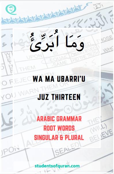 Learn Arabic Grammar | Arabic Grammar: Students Of Quran
