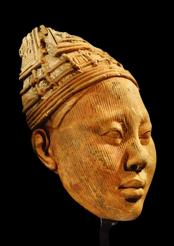 Is Aaa Worth It >> Ife Terracotta Head Ife peoples, Ilé-Ifé region, Southwestern Nigeria Terracotta with residue of ...