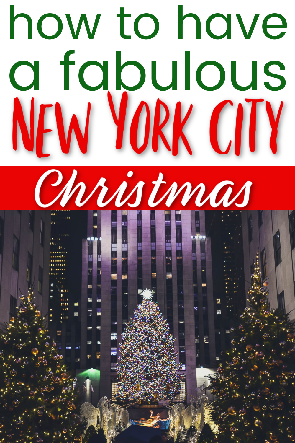 The Ultimate Guide To New York City At Christmas With Kids Travels With The Crew In 2020 Nyc Christmas New York City Christmas Nyc In December