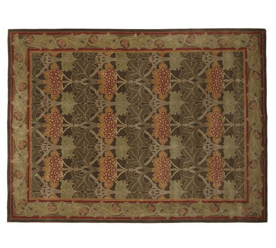 Cecil Rug   Green From Pottery Barn Is Sooo Art Nouveau.