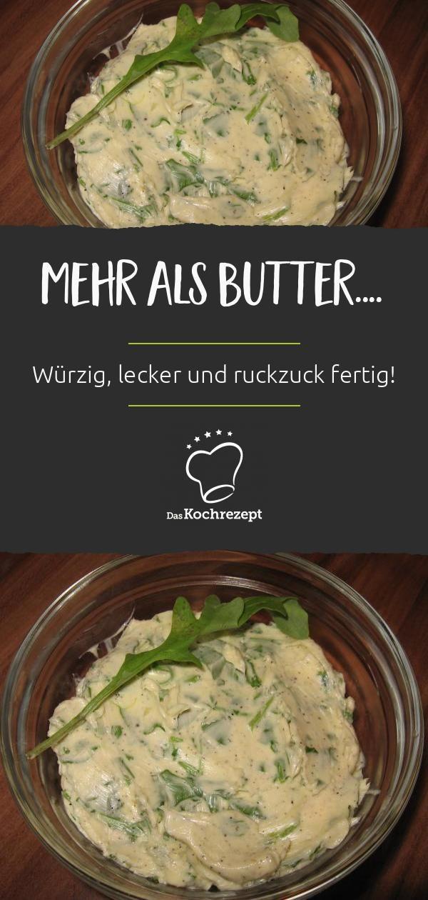 Rucola-Butter