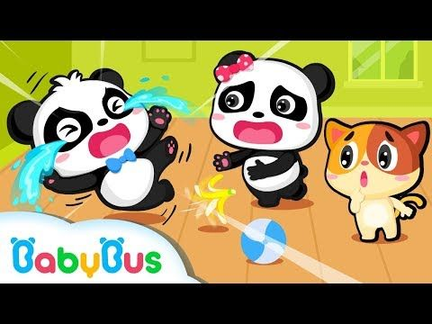 Baby Panda Didn't Clean Up His Toys | Good Habit Song & Animation for Kids | BabyBus - YouTube #babypandas