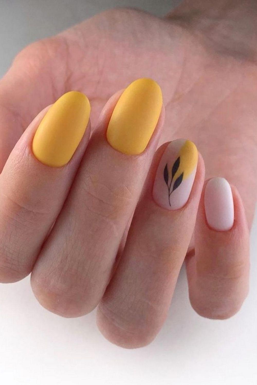 #yellow #manicure #nails #nailart #nail #art #naildesign #beauty #gelpolish #nailswag #nailpolish
