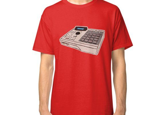 Akai Mpc 2000 Classic T Shirt By Saulius Gto3000 Classic T Shirts T Shirt Mens Tops