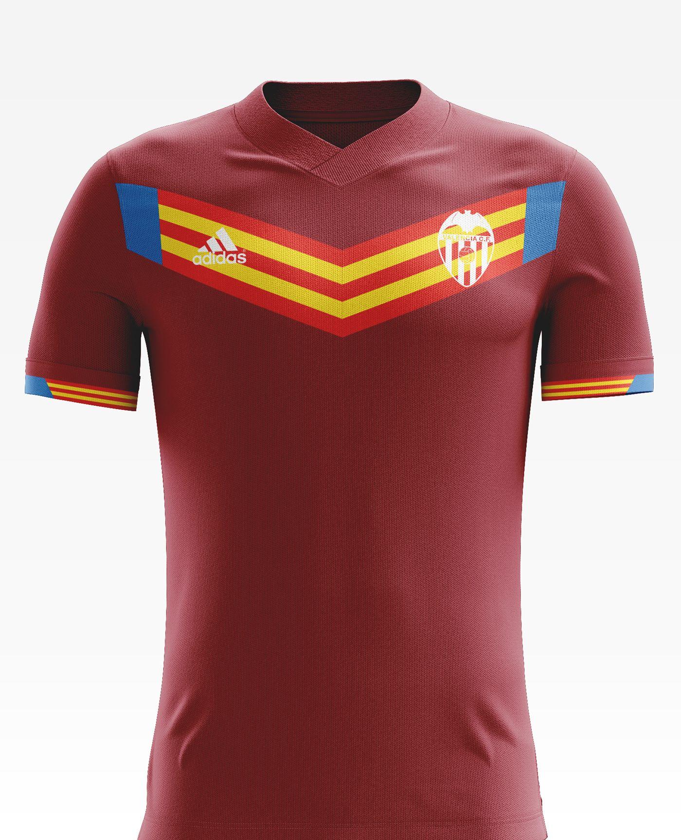 936fa05b8 I designed football kits for Valencia C.F. for the upcoming season 17 18.
