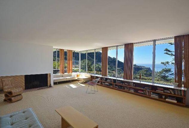 Interior The Beckstrand Home. Richard Neutra, 1940.
