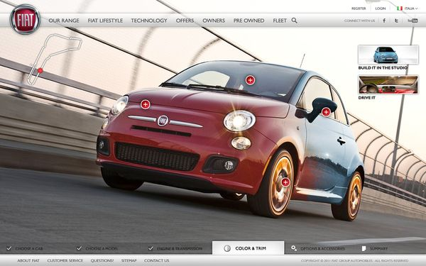 fiat car configurator | stuff to buy | pinterest | fiat cars