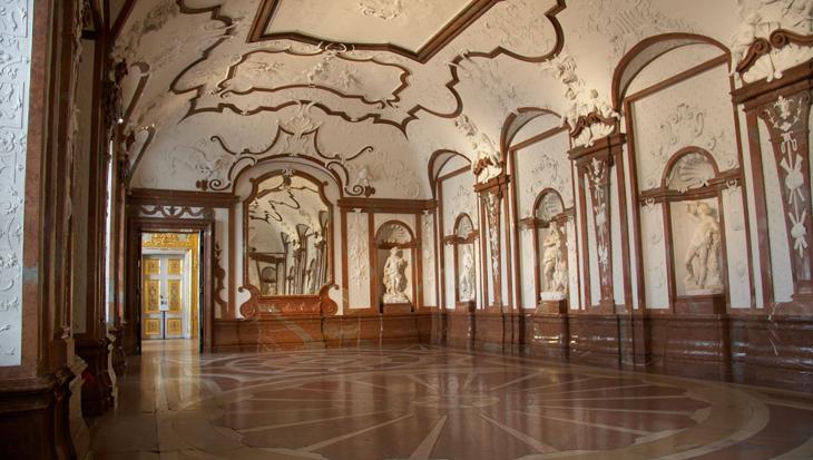 Lower Belvedere Belvedere Palace And Museum Vienna Museum Burg Barock