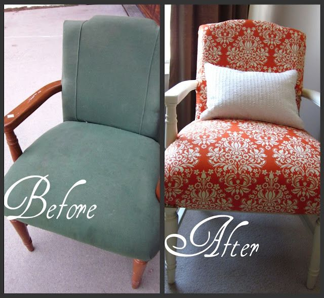 DIY - New Life to a Thrift Store Chair {tutorial}