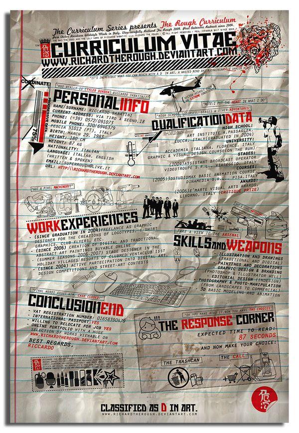 Curriculum Vitae Resume Infographics-34