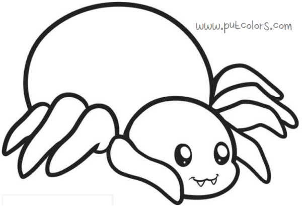 Spider Coloring Pages Spiderman Or Real Spider Figure Spider Coloring Page Animal Coloring Pages Puppy Coloring Pages