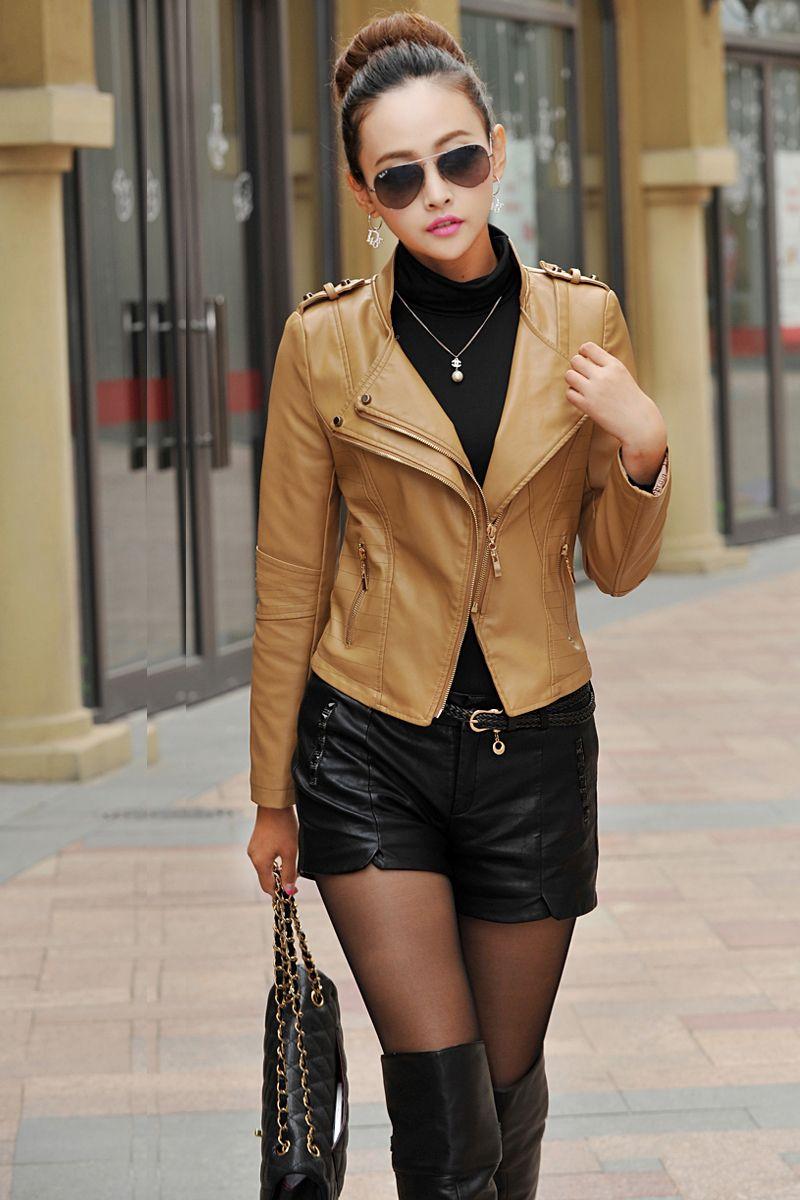 Leather jacket killer b&q - Image Result For Leather Girls