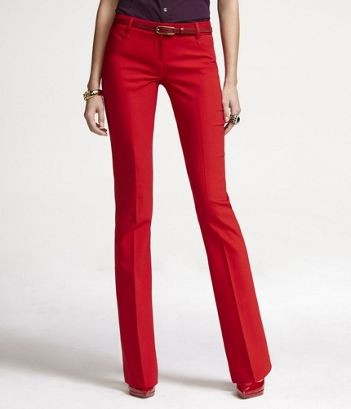 Red Dress Pants Women - Fat Pants
