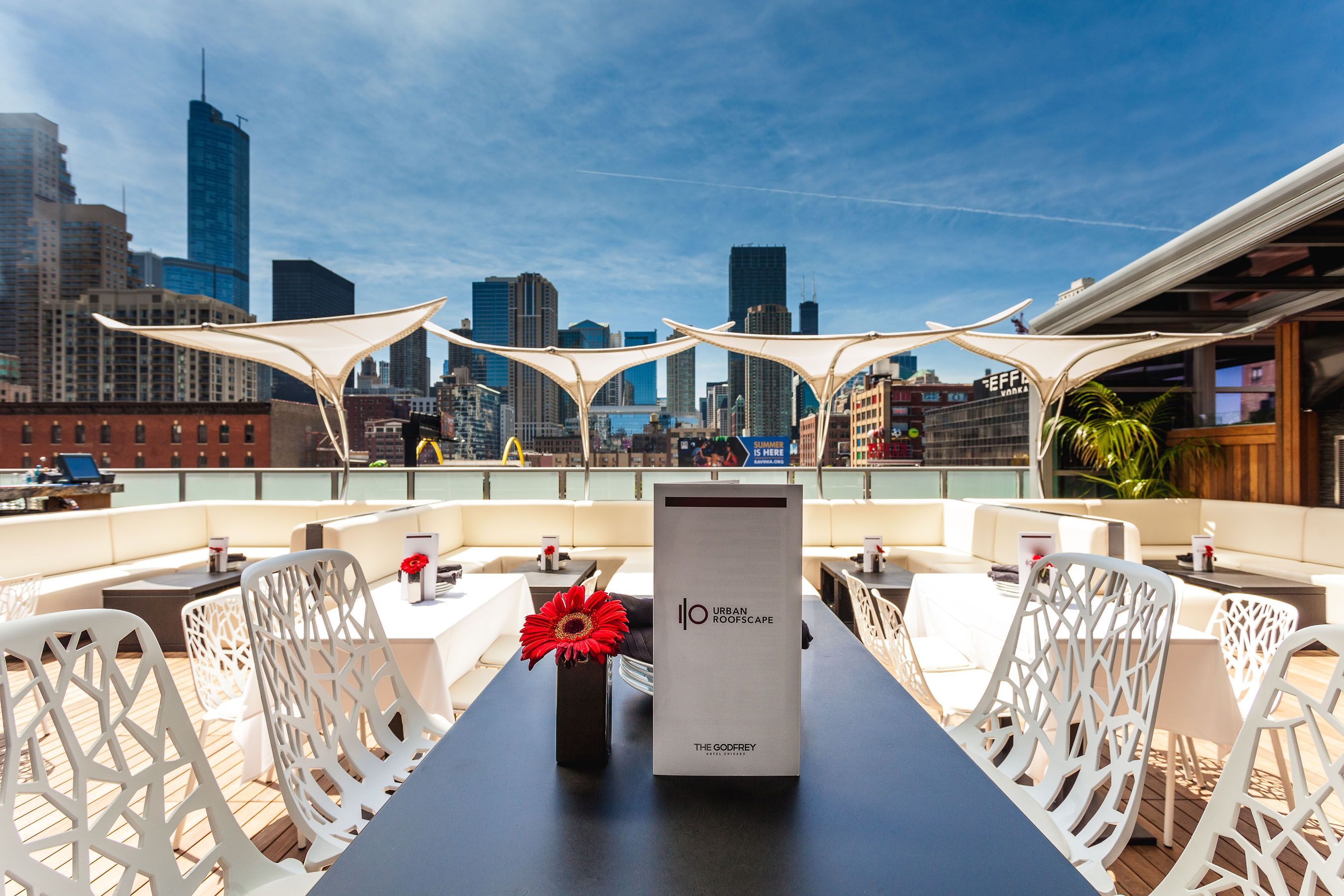 Rooftop Lounge With Seriously Ridiculous Skyline Views