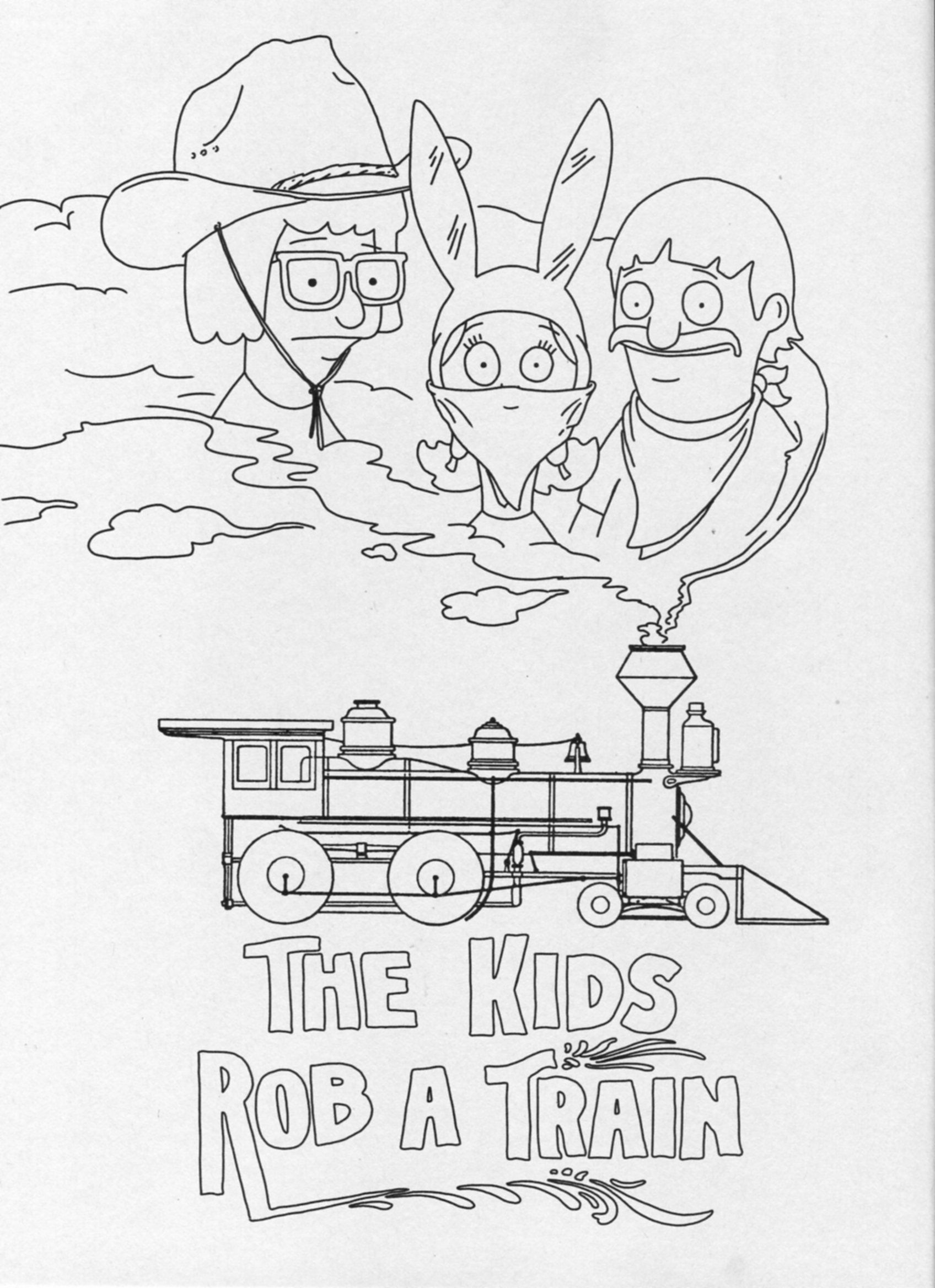 The Kids Rob A Train Gallery Friends With Burgerfits Bob S