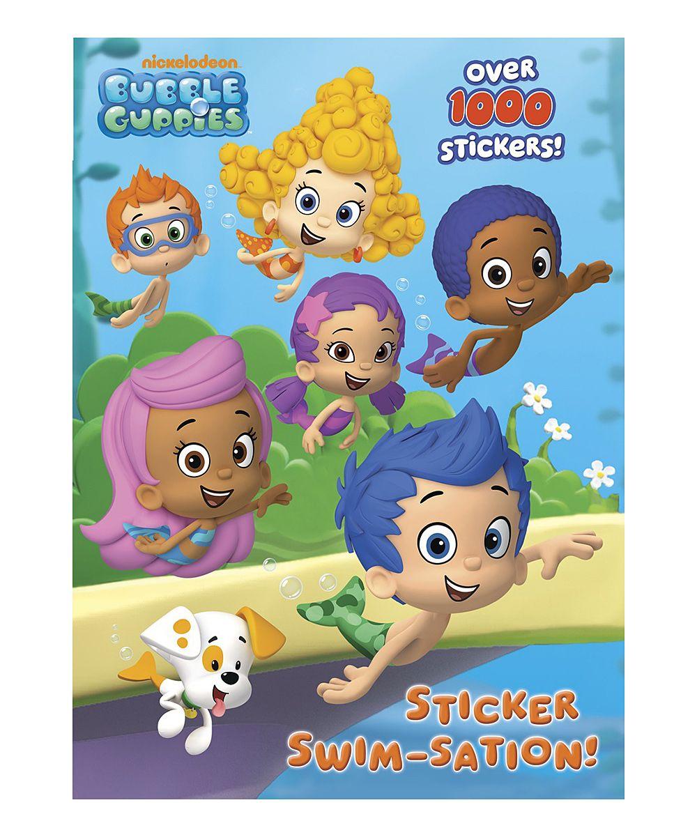 Bubble Guppies Sticker Swim-Sation Activity Book | Dibujo