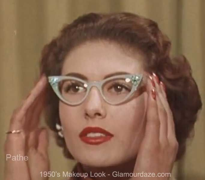 Cat Eye Glasses - Vintage Style And Beauty Advice