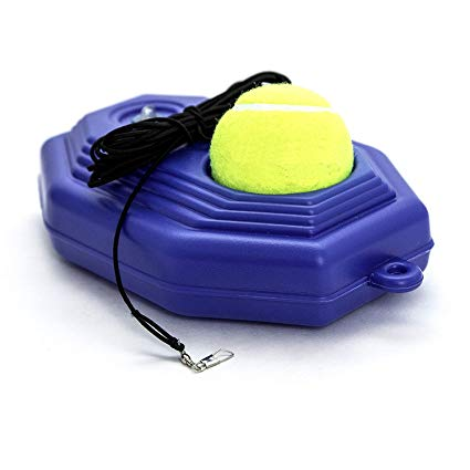 Amazon Com Inte Tennis Trainer Rebounder Ball Cemented Baseboard With Rope Solo Equipment Practice Training Tennis Scores Tennis Ball Tennis Ball Machines