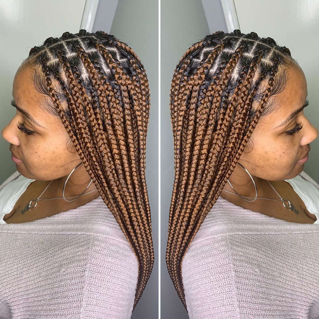 40 Top Braiding Hairstyles Gorgeous Styles Perfect For All Occasions Hello Dearies Braiding Hairsty Box Braids Styling Braided Hairstyles Blonde Box Braids