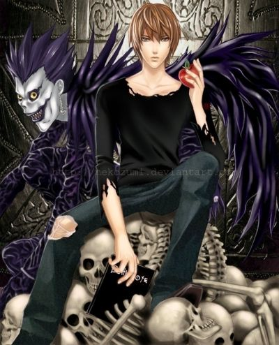 Light Death Note L Death Note Kira Death Note