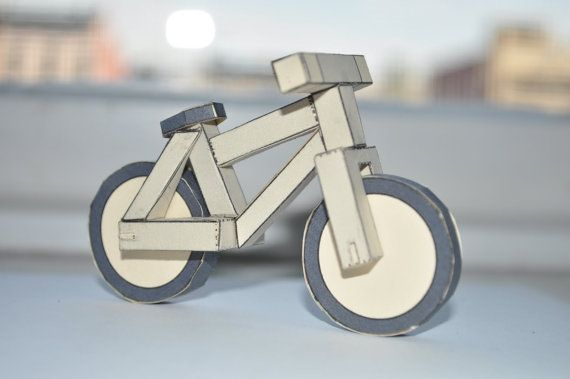 Pdf Paperbikes V1 Papercraft Bike Mountain Bicycle Mtb