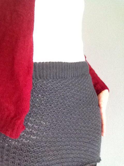 bb1195d4f5f4 Hæklet nederdel i muslingemønster - crochet skirt