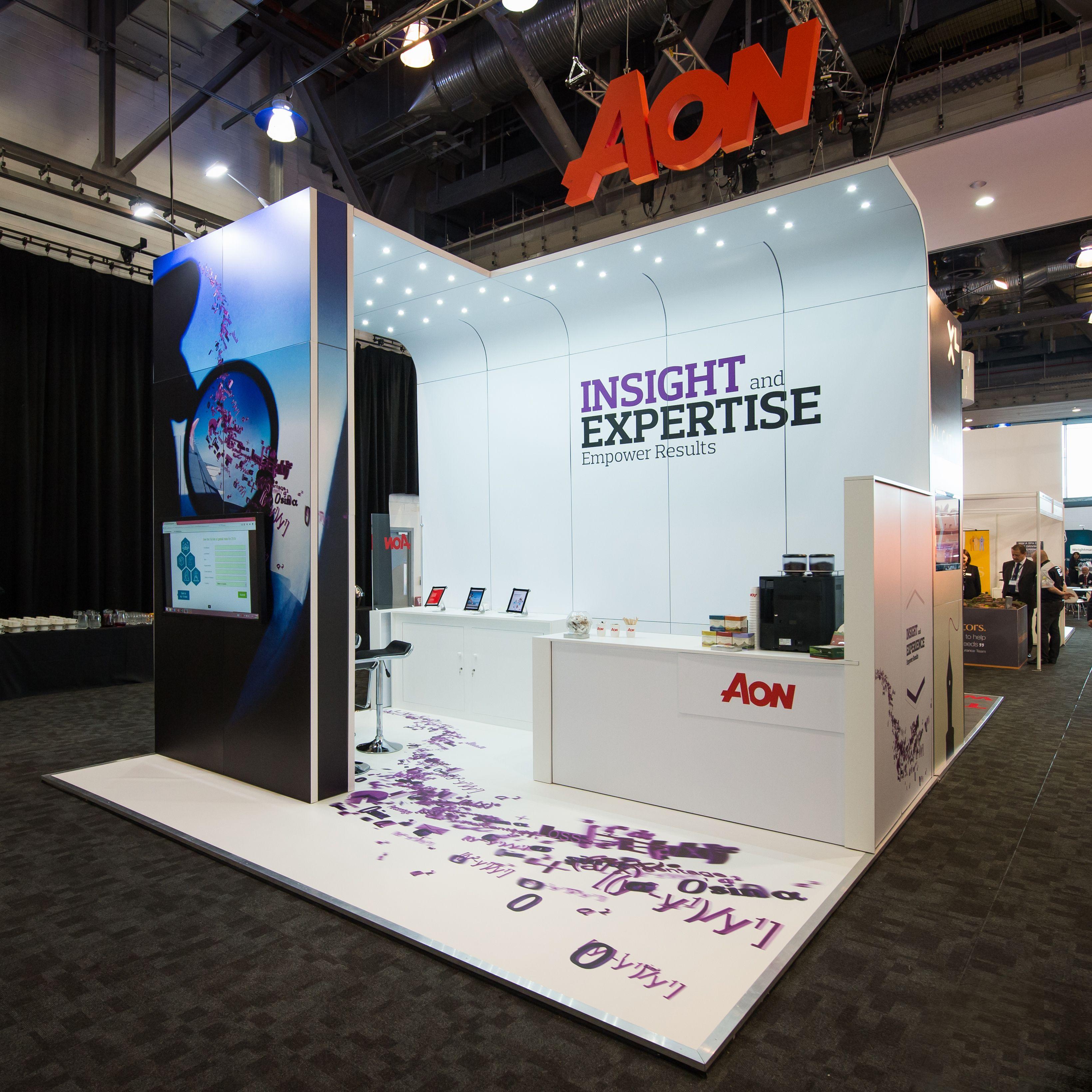 Exhibition Stand Frames : Aon airmic http exponetusa custom