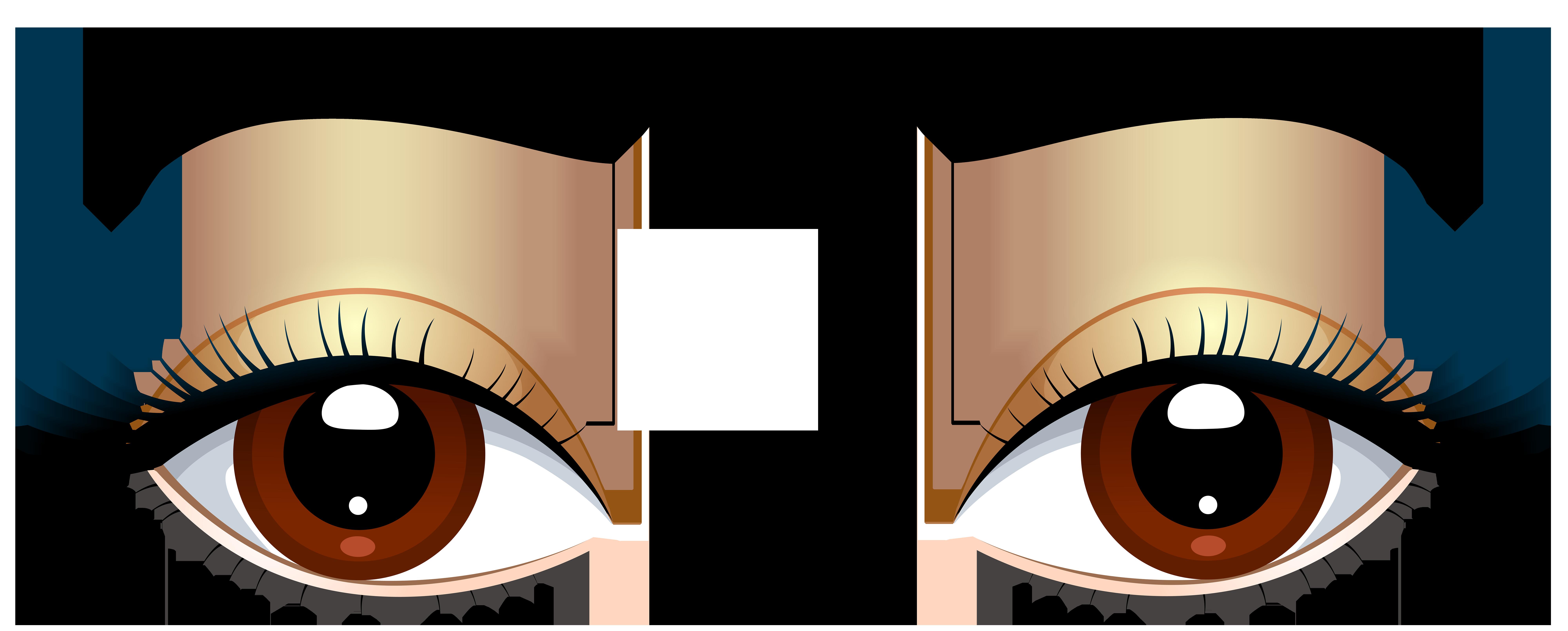 Brown Eyes With Eyebrows Png Clip Art Adesivos De Olho Namoradeiras Corpo Humano