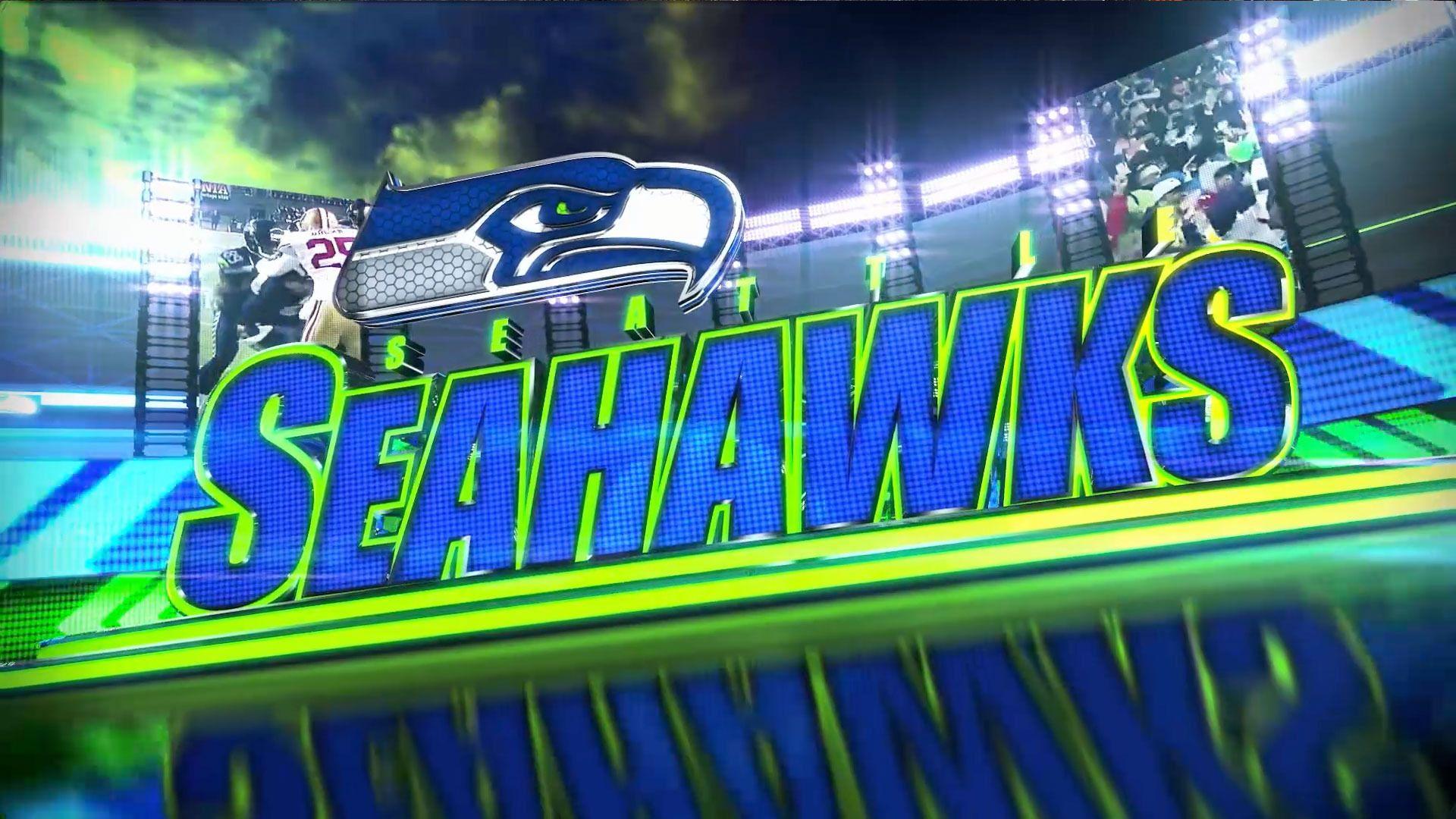 HD Cool Seattle Seahawks Logo Wallpaper in Sports