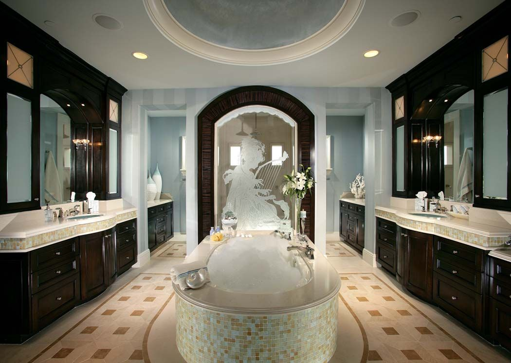 Bathroom, Elegant Remodeled Master Bathrooms Design: Modern Master