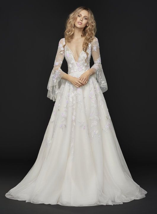 Hayley Paige can be found at LaineeMeg Bridal and the Nordstrom ...