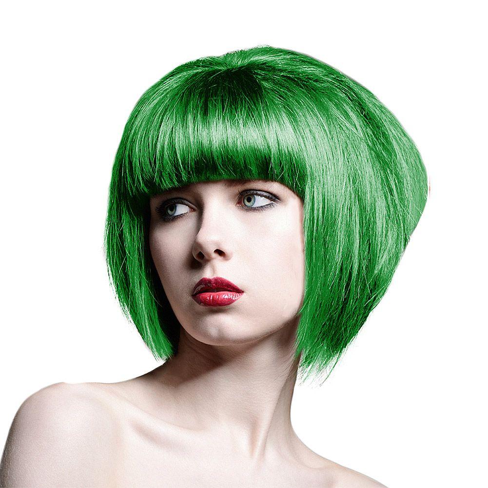 Splat Neon Green Long Lasting Hair Colour (Green)