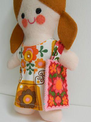 Peggy Doll - Handmade by alice apple